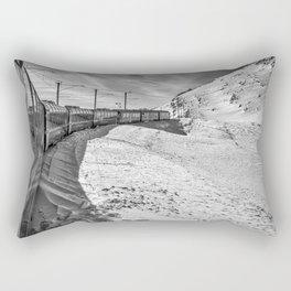 Locomotive. Rectangular Pillow