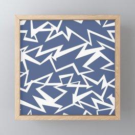 Zap Framed Mini Art Print