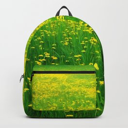 Dandelion Field Backpack