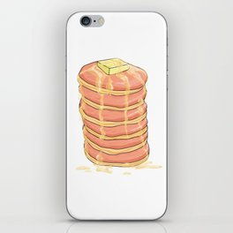PANCAKES WITH HONEY iPhone Skin