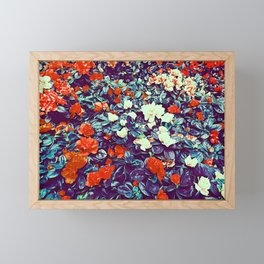 In the flowers Framed Mini Art Print