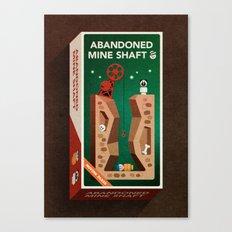 Abandoned Mine Shaft Canvas Print