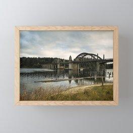 Siuslaw River Bridge Framed Mini Art Print
