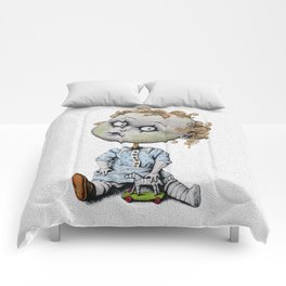 The Zombie Games (boy) Comforters