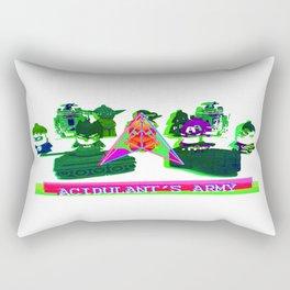 Acidulant's Army  Rectangular Pillow