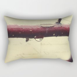 rain drop Rectangular Pillow