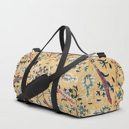Kermina  Suzani  Antique Uzbekistan Embroidery Print Duffle Bag