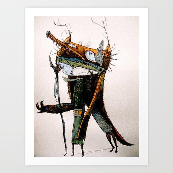 lupin Art Print