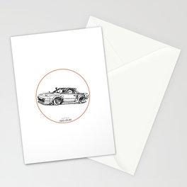 Crazy Car Art 0091 Stationery Cards