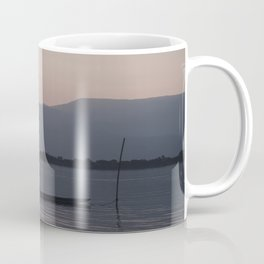 Sunset at Mekong Coffee Mug