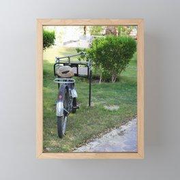 Cargo Bike Framed Mini Art Print