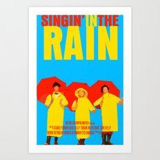 Singin In The Rain Art Print