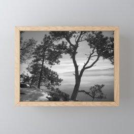 Shadows of Winter in Montana Framed Mini Art Print