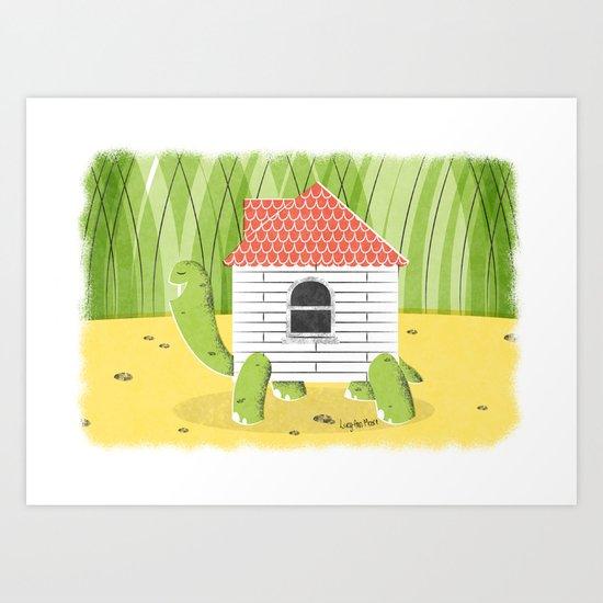 Turtle D.I.Y. Art Print