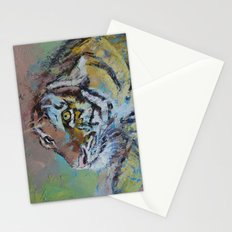 Tiger Play Stationery Cards