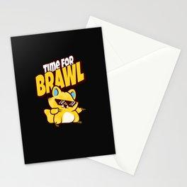 brawl gamer brawler zocken gaming time for brawl Stationery Cards