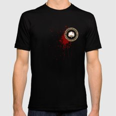 Minimal movie cover: Django Unchained Black LARGE Mens Fitted Tee