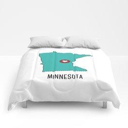 Minnesota State Heart Comforters