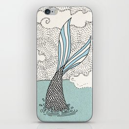 The search of love iPhone Skin