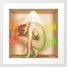 Light in a Box Art Print