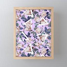 FUTURE NATURE XI Framed Mini Art Print