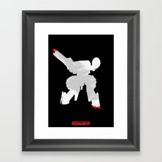 Metal Gear Solid - If you understand this .. it hurts (2) Framed Art Print