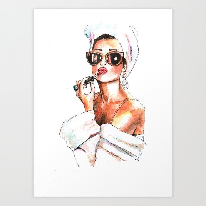 Fashion Lady Kunstdrucke