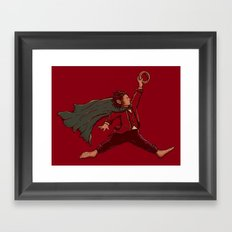 Air Frodo Framed Art Print
