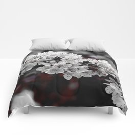 FLOWERS - BLOOM - NATURE - PHOTOGRAPHY Comforters