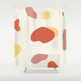 If a Sunset Melted Into Puddles Shower Curtain