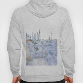 Frankfurt Skyline Germany Hoody