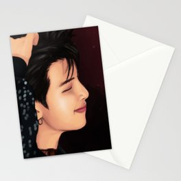 BTS RM FAKE LOVE FANART Stationery Cards