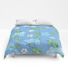 Myosotis pattern Comforters