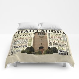 CHQ Words Pillow Comforters