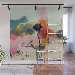 paysage abstract Wall Mural