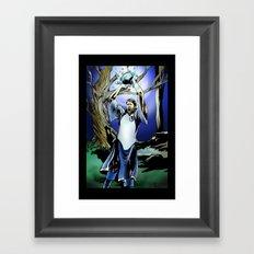 Dirk Nowitzki the eternal Framed Art Print