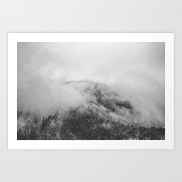 Moody clouds 1 Art Print