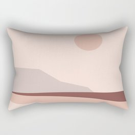 Abstract Landscape 02 Rectangular Pillow