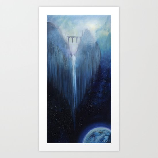 Angel Falls Art Print