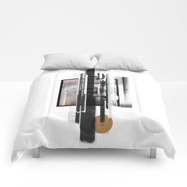 """Ramikin Three"" Graphic Art Print Comforters"