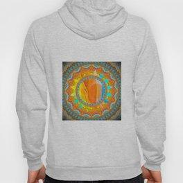 Moon and Sun Mandala Design Hoody