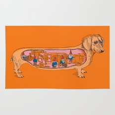 Secrets of the Dachshund  Rug
