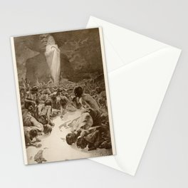 Rivers of MILK - Alphonse MUCHA 1899 Stationery Cards