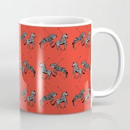 Pattern of The Royal Tenenbaums Coffee Mug