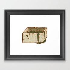 Moab Is My Washpot Framed Art Print