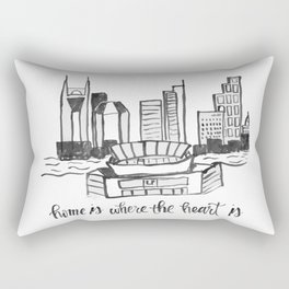Home is Where the Heart is- Nashville Rectangular Pillow