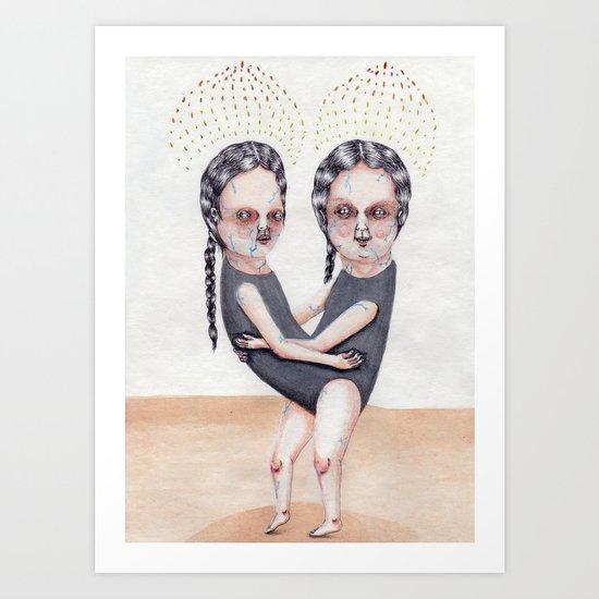 The Load Art Print