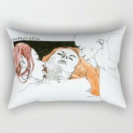 NUDEGRAFIA -18 Rectangular Pillow