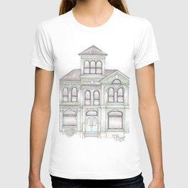 Green Italianate Victorian T-shirt