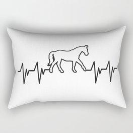 horse horse horse love animal love gift rider equestrian sport Rectangular Pillow